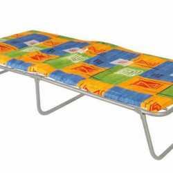 Раскладушки, кровати металлические для малых помещений