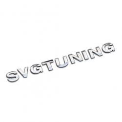 Эмблема SvgTuning на багажник для тюнинга авто
