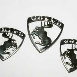 Металлические эмблемы с лосем Volvo