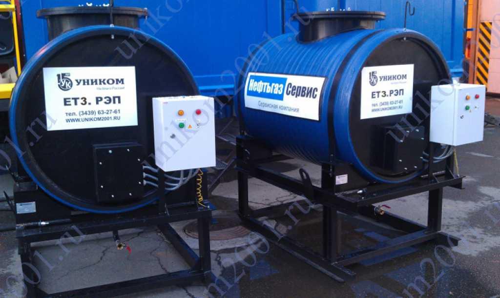 Емкости для воды в Усинске. Фото 2