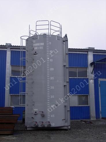 Резервуар вертикальный в Усинске. Фото 1