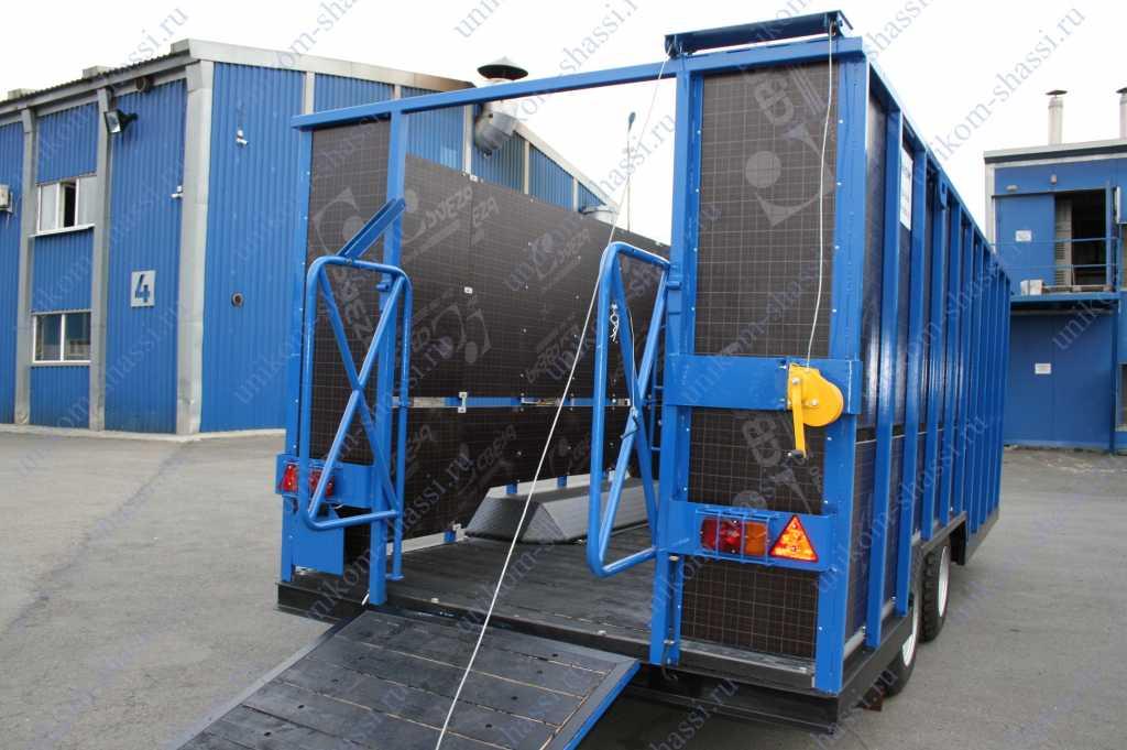 прицеп для перевозки животных в Усинске. Фото 4