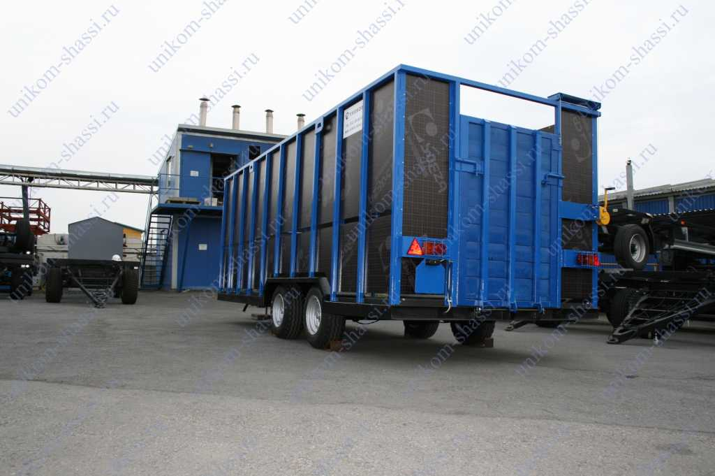 прицеп для перевозки животных в Усинске. Фото 5