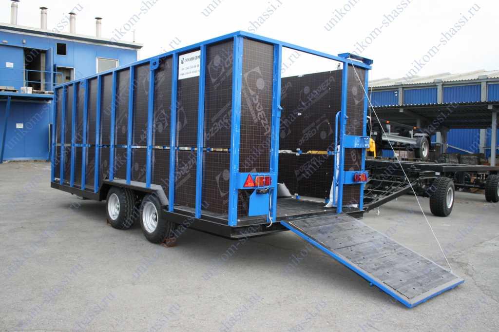 прицеп для перевозки животных в Усинске. Фото 1