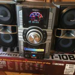Продаю Музыкальный центр Sony HCD-GT222
