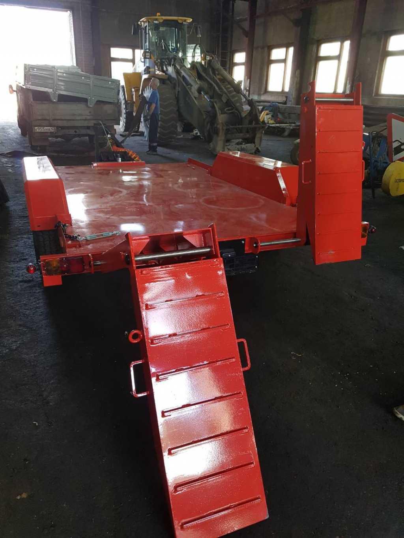 Прицеп для перевозки спец техники до 4 тонн в Москве. Фото 7