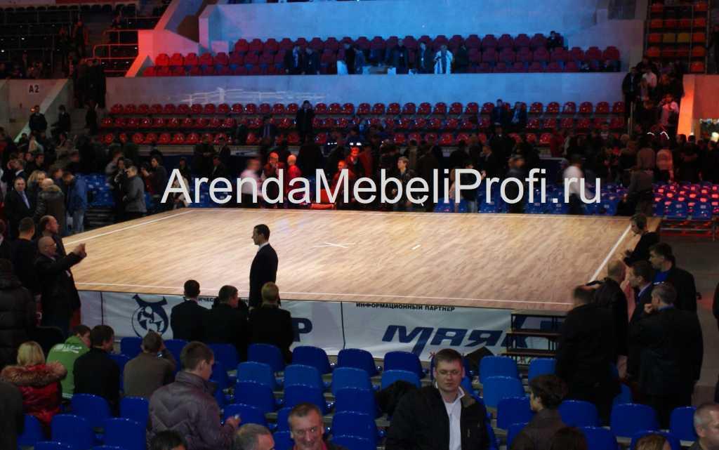 Танцевальный пол в аренду для мероприятия, аренда мобильного танцпола в Москве. Фото 8