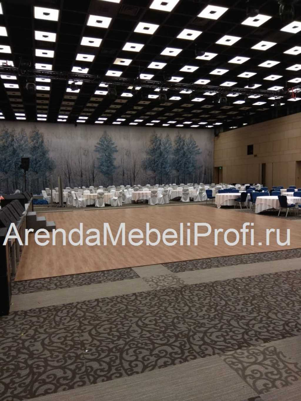 Танцевальный пол в аренду для мероприятия, аренда мобильного танцпола в Москве. Фото 1
