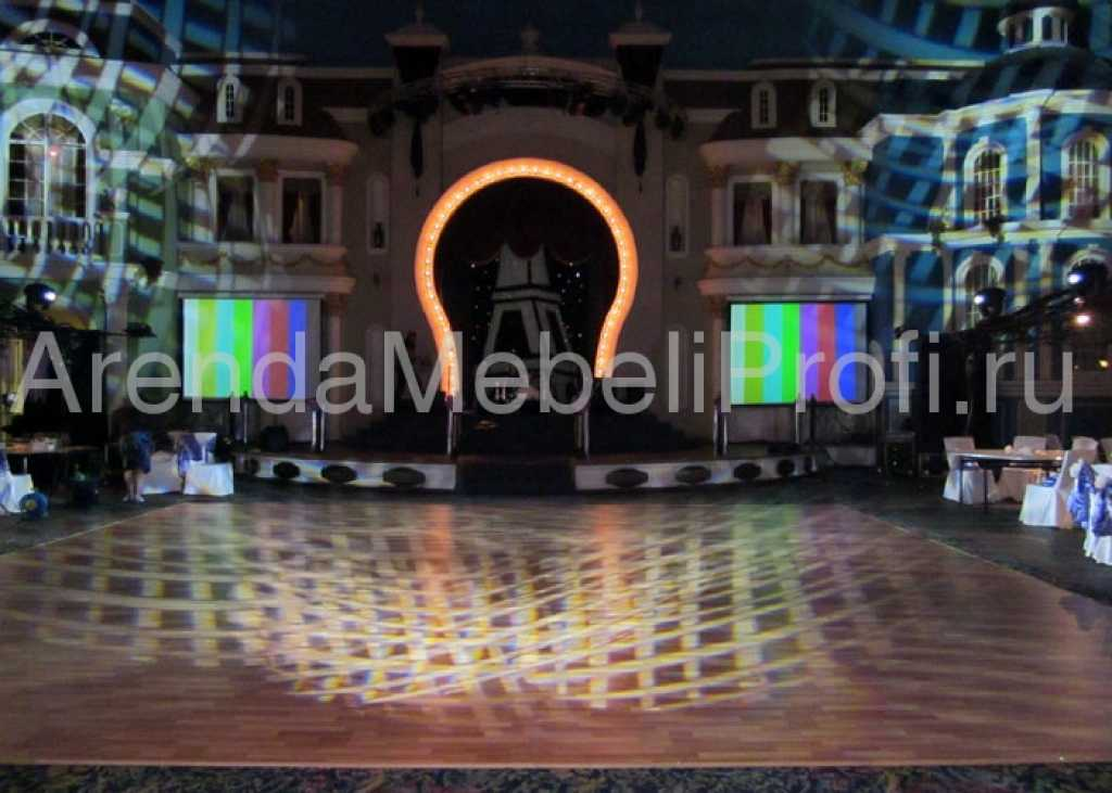 Танцевальный пол в аренду для мероприятия, аренда мобильного танцпола в Москве. Фото 5