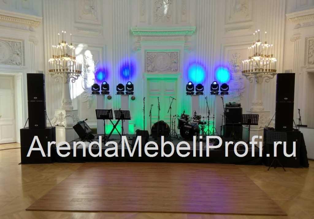 Танцевальный пол в аренду для мероприятия, аренда мобильного танцпола в Москве. Фото 9