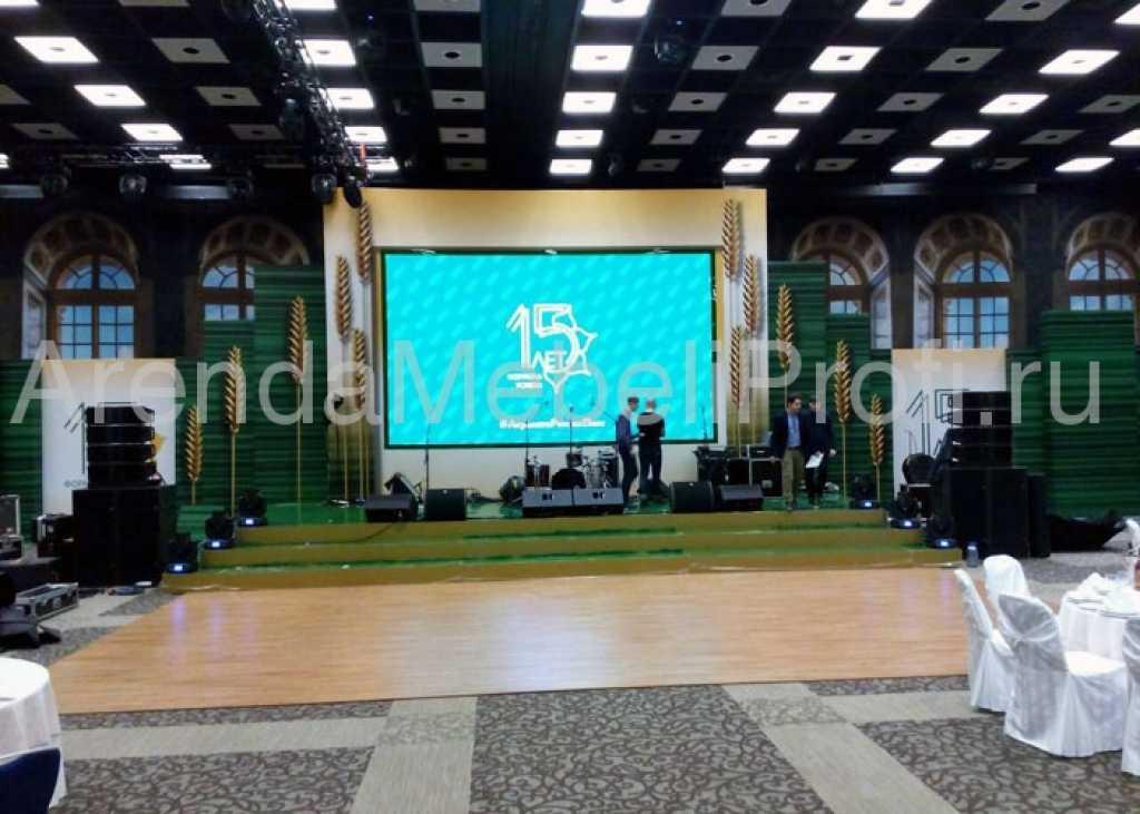 Танцевальный пол в аренду для мероприятия, аренда мобильного танцпола в Москве. Фото 6