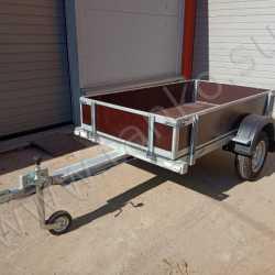 Прицеп до 750 кг для различных грузов с раздвижным дышлом