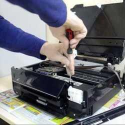 Страница диагностики принтера.