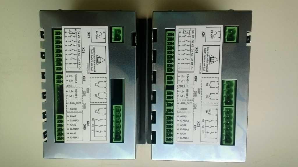 Конроллер AirmasterS1- программируемый микропроцессорный блок управления винтовыми компрессорами в Москве. Фото 2
