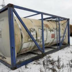Танк - контейнера нержавеющий, объем -17,4 куб.м., термос