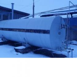 Емкости для хранения углекислоты, объем 10 и 12 куб.м.