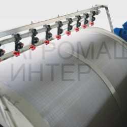 Барабанный механический фильтр 60 м3 в час