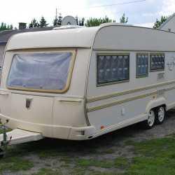 Жилой прицеп, дом на колесах TABBERT BARONESSE с кондиционером, 2006г.