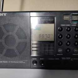 Радиоприемник SONY 7600