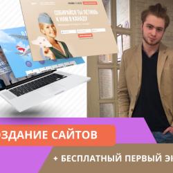 Создание сайтов, реклама Яндекс Директ и Google