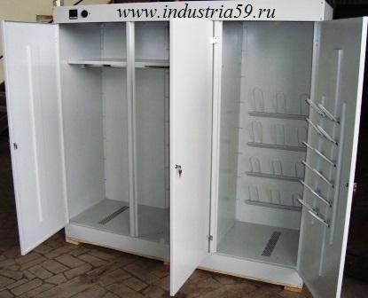 Шкаф для сушки и хранения спецодежды в Чайковском. Фото 1