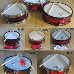 Пионерский маршевый барабан