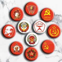 Значки с символикой СССР