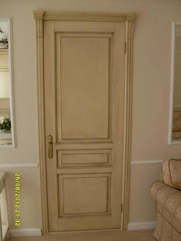 Двери из массива в Омске. Фото 1