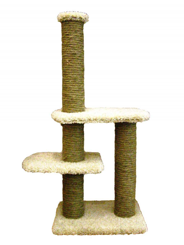 Кошачьи комплексы и когтеточки на подставке в Тюмени. Фото 1