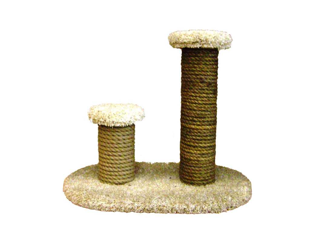 Кошачьи комплексы и когтеточки на подставке в Тюмени. Фото 2