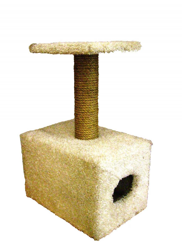 Кошачьи комплексы и когтеточки на подставке в Тюмени. Фото 4