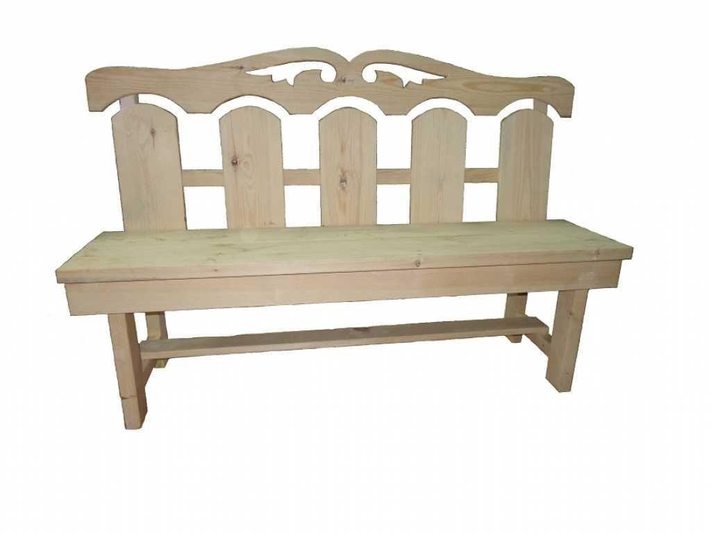 Скамейки со спинкой, лавочки, трапик в Тюмени. Фото 3