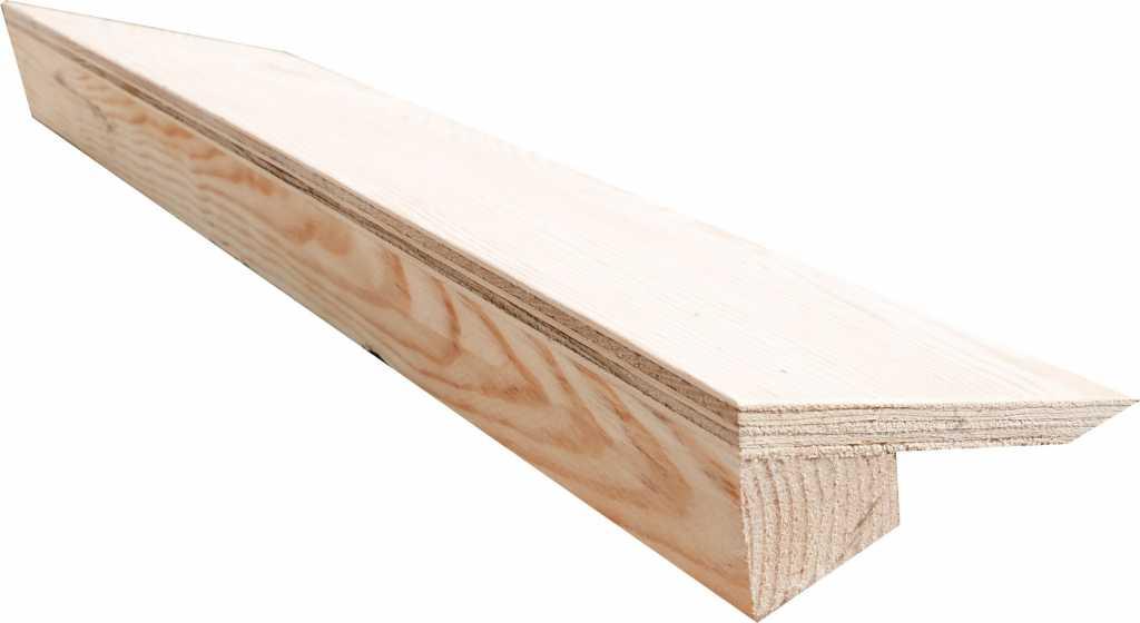 Порог (пандус) деревянный в Тюмени. Фото 1