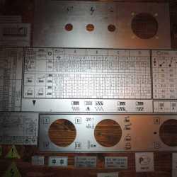 Шильдики. Таблички для токарных станков 1к62, 1к62д, 1в62, 1в62г, 16в20, 16к20, 16к25,16к40, 1м63 в Туле