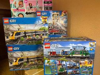 Конструктор LEGO City 60198 грузовой поезд в Санкт-Петербурге. Фото 1