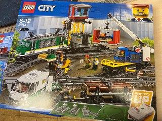 Конструктор LEGO City 60198 грузовой поезд в Санкт-Петербурге. Фото 2