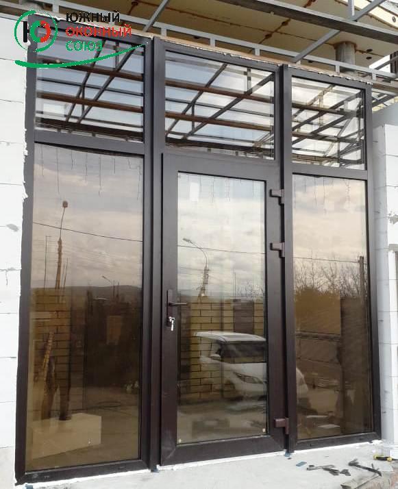 Изготовление, установка алюминиевых и ПВХ дверей, окон. в Краснодару. Фото 6