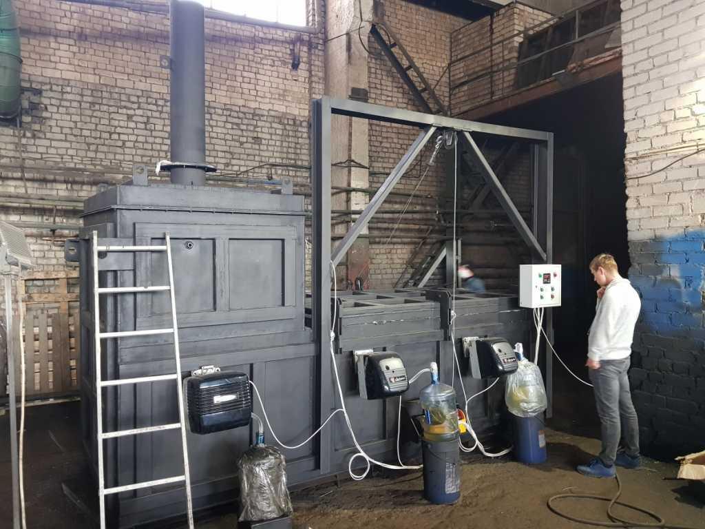 Инсинераторная установка Гейзер в Костроме. Фото 2