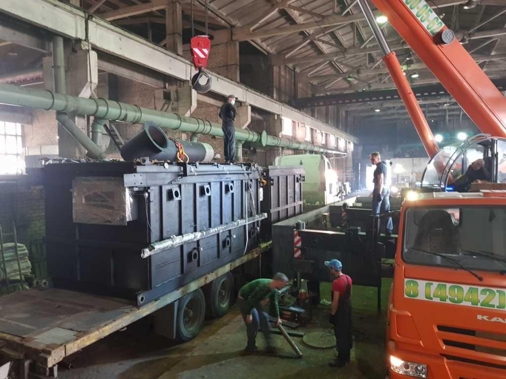 Инсинераторная установка Гейзер в Костроме. Фото 3