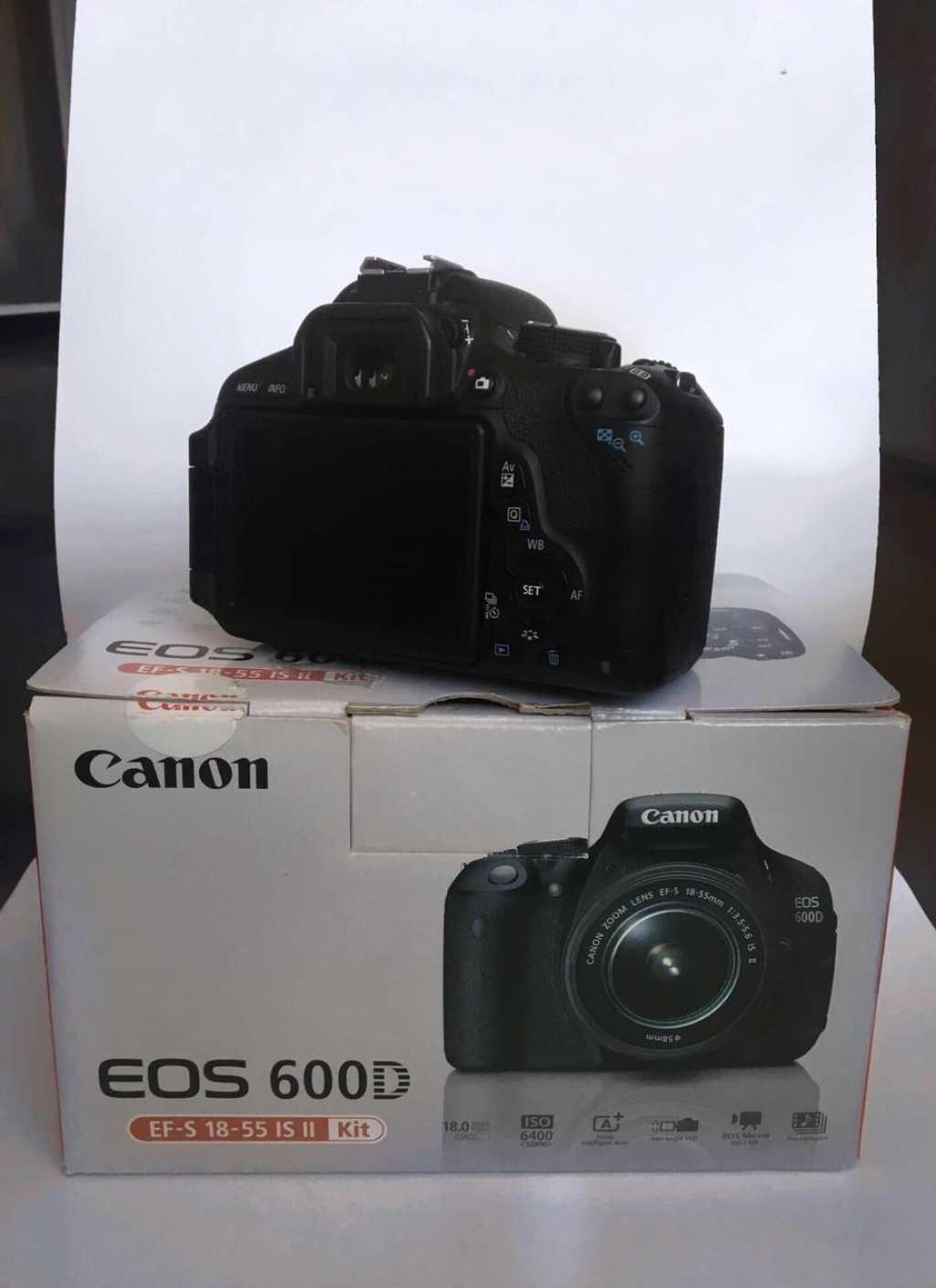 Зеркальный фотоаппарат Canon 600D в Твери. Фото 1