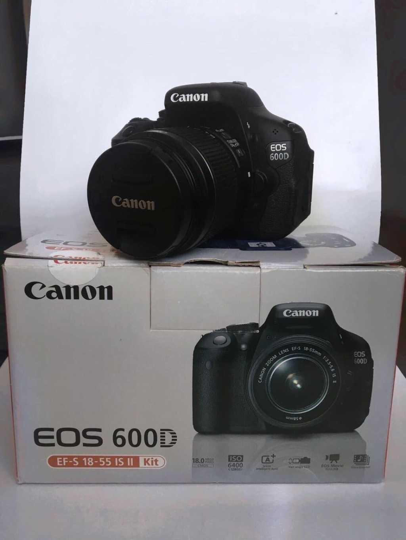 Зеркальный фотоаппарат Canon 600D в Твери. Фото 2
