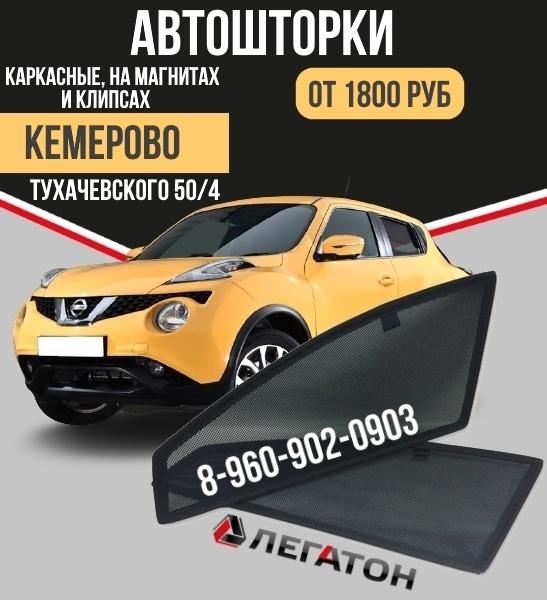 Купить каркасные шторки для автомобилей (автошторки) в Кемерово. в Кемерове. Фото 1