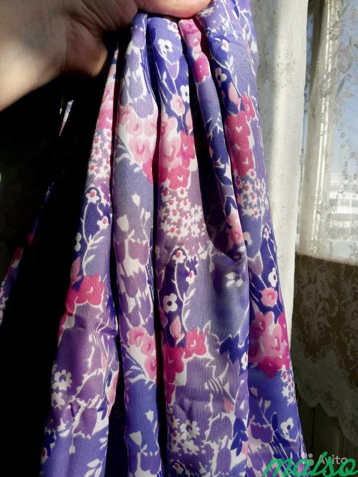 Ткань цветная искусственный шелк в Москве. Фото 3