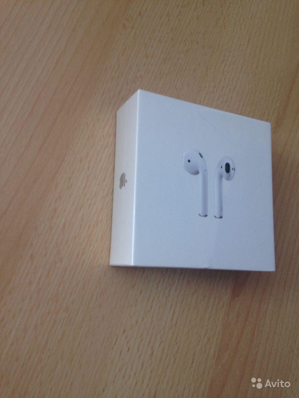 Apple Airpods новые в заводской пленке в Москве. Фото 1