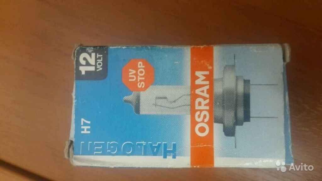 Лампа накаливания Osram H7 Halogen в Москве. Фото 1
