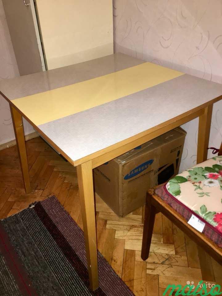 Стол обеденный квадратный гдр в Москве. Фото 2