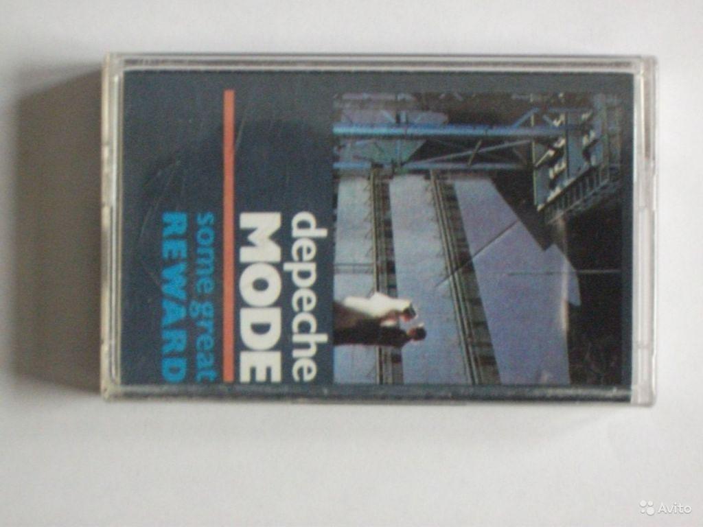 Аудиокассета 90мин студийная запись depeche mode в Москве. Фото 1