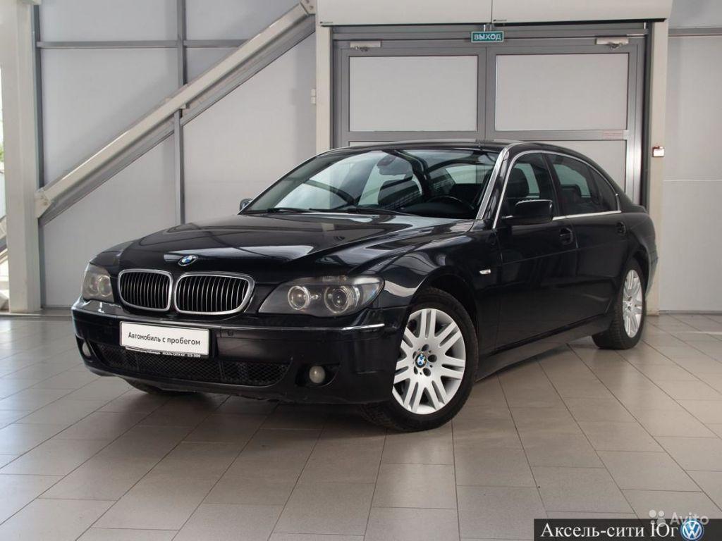 BMW 7 серия, 2007 в Санкт-Петербурге. Фото 1