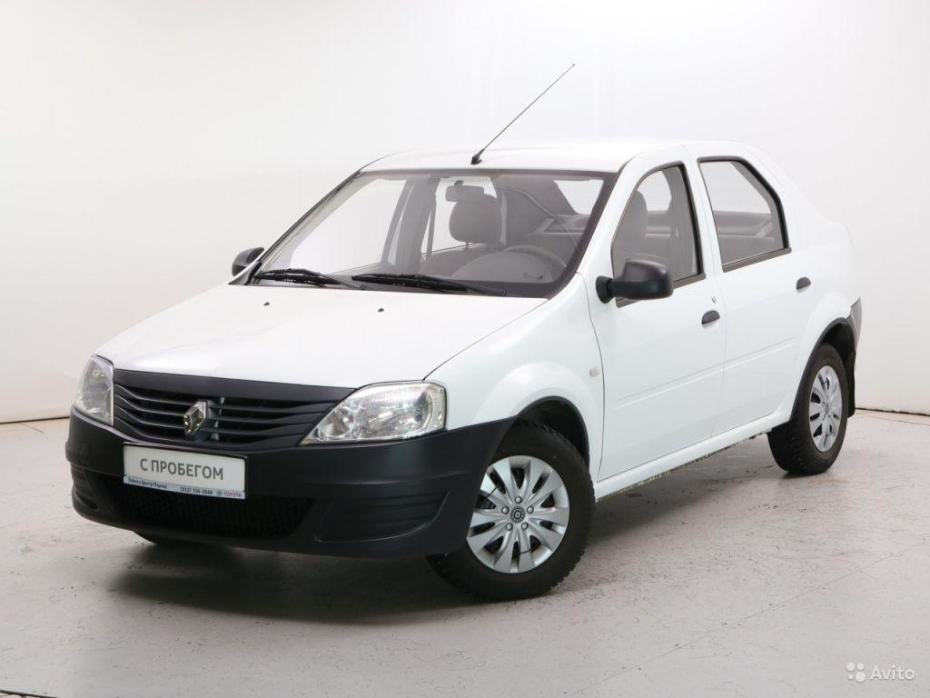 Renault Logan, 2012 в Санкт-Петербурге. Фото 1