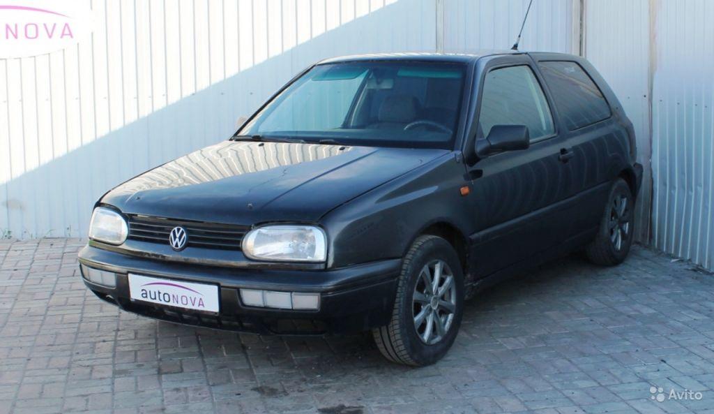 Volkswagen Golf, 1992 в Санкт-Петербурге. Фото 1